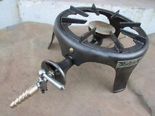 Antique Cast Iron 1950s Gazcidla Gas Fully Functional Stove Burner Old Portable