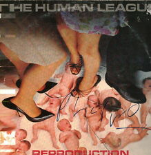 "Human League signed autograph 12"" LP sleeve UACC AFTAL online COA"
