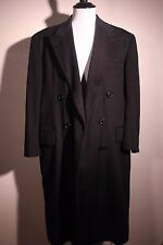 Brooks Brothers Pure Cashmere Full Length Overcoat Town Coat Men's 46 47 48 XL
