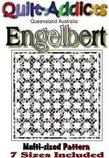 """""""ENGELBERT"""" Multi Sized Patchwork Quilt Pattern"""