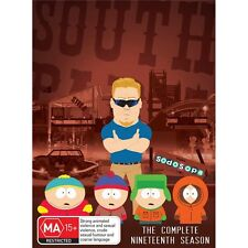 SOUTH PARK.-Season 19-Region 4-New AND Sealed- 2 DVD Set TV Series