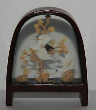Vintage Japanese Cork Art Diorama Suitable For The Vintage Dolls House