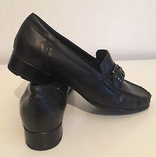 Para mujeres Cuero Mocasines Luftpolster Ara Mocasín Zapatos Planos Talla 6 39 Nuevo