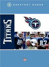TENNESSEE TITANS 3 GREATEST GAMES New Sealed 3 DVD Set