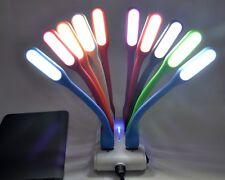 Flexible USB LED Light Lamp For Computer Keyboard Reading PC Laptop Mac UK STOCK