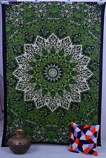 Indian Star Hippie Psychedelic Wall Hanging Mandala Tapestry Twin Throw Ethnic