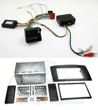 Mercedes ML W164 05-11 Steering and Fibre Optic Adaptor and Double Din Facia Kit