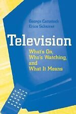 Television: What's on, Who's Watching, and What it Means, Scharrer, Erica, Comst