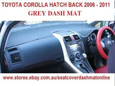 DASH MAT, DASHMAT, DASH  TOYOTA COROLLA HATCH BACK  2006-2011, GREY