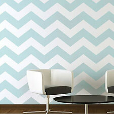 Chevron Allover Stencil Pattern - LARGE - Sturdy Reusable Wall Stencil for DIY