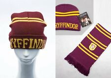 Top Harry Potter Gryffindor Thickened Schal Halstuch Mütze Hut Winterhut Kostüm