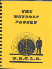 """Man from UNCLE Fanzine """"The Waverly Papers 1, 2, 3, 4"""" Gen story collections"""