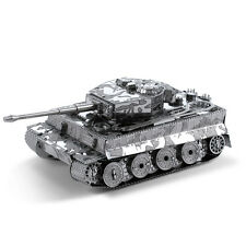 Tiger I Tank Panzer 3D-Metall-Bausatz Silver-Edition Metal Earth 1203