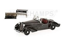 Minichamps 437019131 - 1/43 AUDI FRONT 225 ROADSTER 1935 BLACK