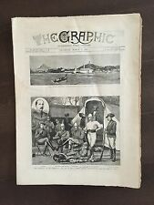 """""""THE GRAPHIC"""" (A Beautifully Illustrated British Weekly Newspaper)-Mar. 5, 1881"""