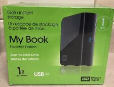 Western Digital My Book Essential 1TB External Hard Drive USB 2.0 WD10000H1U-00