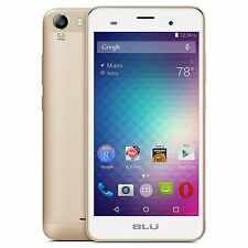 "BLU Dash M2 Android 6.0 D090 5"" X 4G H+ 5MP Dual SIM Unlocked GSM GOLD"