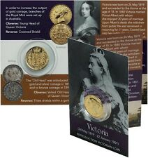 Queen Victoria Coin Pack - Gold Sovereign