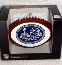 SEATTLE SEAHAWKS SUPER BOWL 48 XLVIII CHAMPS Champions CHRISTMAS ORNAMENT #2