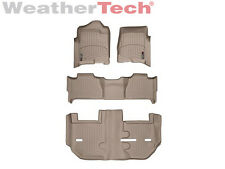 WeatherTec​h® FloorLiner - GMC Yukon XL w/ Bench Seats - Full Set- 2011-2014-Tan