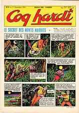 COQ HARDI 5 (NOUVELLE SERIE 1954) RARE PASSIONNANT TBE