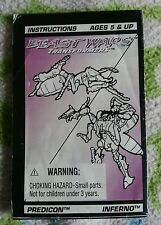 Transformers BEAST WARS INFERNO INSTRUCTION BOOKLET ONLY