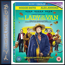 THE LADY IN THE VAN - Maggie Smith & Alex Jennings  *BRAND NEW BLURAY **