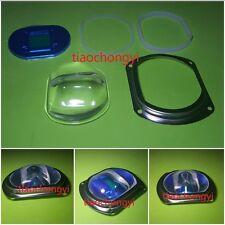 85MM Glass Lens Reflector Holder Bracket Kit Set For Street LED Light Lamp New