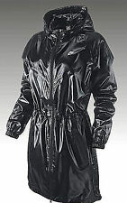 "Nike Long Windrunner Parka Jacket Shiny Nylon Wet Look Effect 38"" Chest"