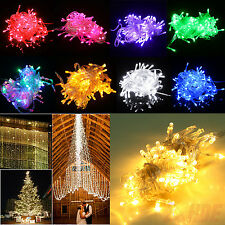100 LED Multifunction Christmas Party Patio Window Fairy String Dorm Lights 32ft