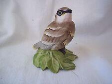 BOEHM Porcelain HP Baby Cedar Waxwing Bird Figurine # 432 EXQUISITE DETAIL