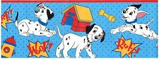 DALMATIONS DOGHOUSES DOG BONES AND WOOF! DISNEY Wallpaper bordeR Wall