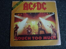 AC/DC- Touch too Much 7 PS-Made in France