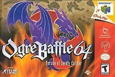 Ogre Battle 64: Person of Lordly Caliber (Nintendo 64, 2000)
