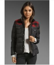NEW Madewell Penfield Rockford Plaid Down Coat Puffer Jacket S Flannel $235