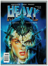 Heavy Metal The Illustrated Fantasy Magazine November 1996 Caza Story