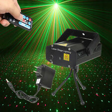 Rotating Music Active LED Lights Laser Stage Effect Lighting Club Disco DJ Party