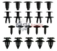SKODA FABIA TRIM PANEL RETAINERS  PUSH RIVET MOULDING PLASTIC CLIPS