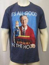50/50 SOFT FEEL ITS ALL GOOD IN THE HOOD, MR. ROGERS NEIGHBORHOOD T-SHIRT SZ 2XL