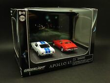 Greenlight 1/64 1965 Shelby Mustang GT350 & 1970 Chevrolet Corvette  - Apollo 13