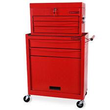EBERTH Carro de herramientas con coffre herramientas carrito taller cajones caja