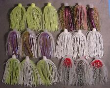 18 BIO-FLEX *SKIRTS PLUS* HOLE N ONE SILICONE SPINNERBAIT SKIRT ASSORTED COLORS
