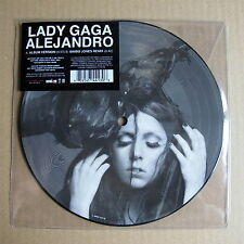 Lady Gaga Alejandro Un-played Picture Disc with stickered sleeve