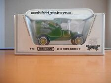 Matchbox Models of Yesteryear Y-12 1912 Ford Model 'T' 25 YRS MODELS OF YES+BOX