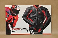 New 2004 Ducati Performance Corse Meccanica Apparel Helmet Clothing Catalog Book