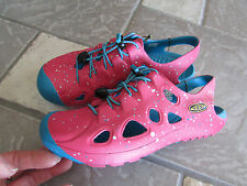 NEW KEEN RIO CLOSED TOE SANDALS SHOES PINK/BLUE GIRLS 13 CHILDREN 13 FREE SHIP