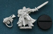 40K SPACE MARINE CAPTAIN COMMANDER CHAPTER MASTER IN POWER ARMOUR **NEW** (S4)
