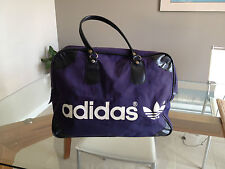 Vintage Adidas Sports Bags, Navy Canvas