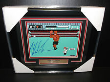 IRON MIKE TYSON AUTHENTIC AUTOGRAPHED 8X10 PHOTO FRAMED JSA COA PUNCH-OUT