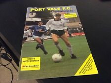 Port Vale v Newcastle United 2003-04